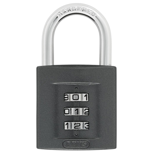ABUS SUPERCODE 158 3-DIGIT COMBINATION PADLOCK 40MM