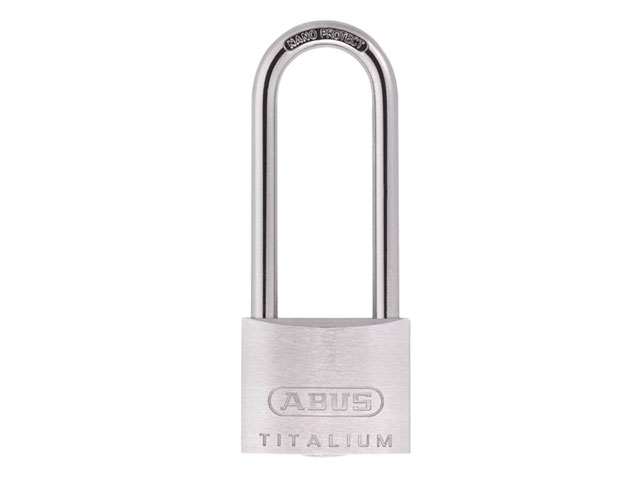ABUS TITALIUM 64 PADLOCK 40MM (LONG SHACKLE)