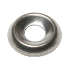 SURFACE SCREW CUP WASHER - 5.0 (9-10G) A2 STAINLESS STEEL