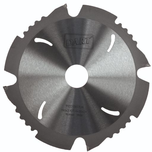 LONG LIFE DIAMOND PCD CIRCULAR SAW BLADE 165 X 20 X (2.4/1.6MM) X 4T
