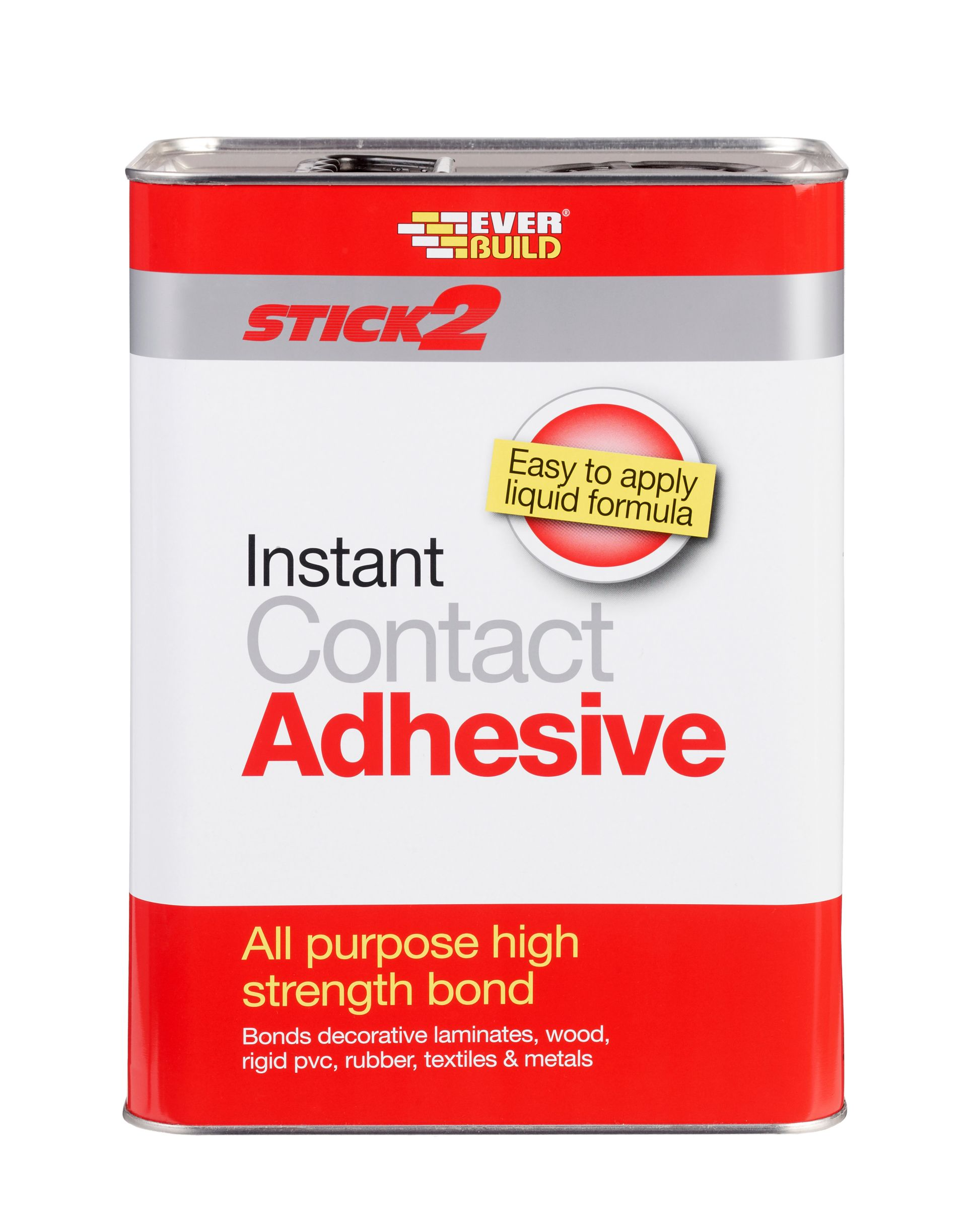 STICK2 ALL PURPOSE INSTANT CONTACT ADHESIVE 5L