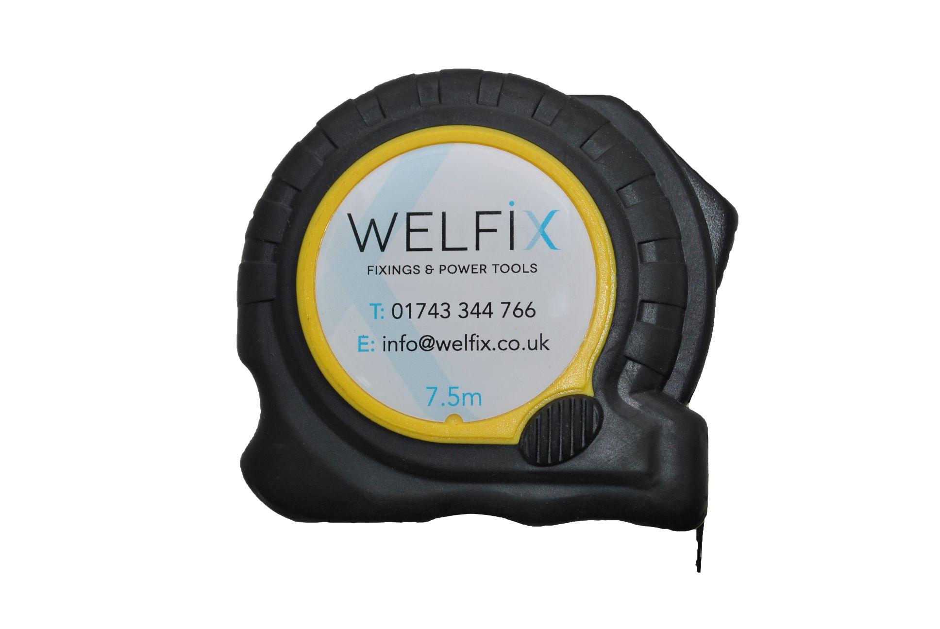 'WELFIX' TAPE MEASURE -  5M/16FT