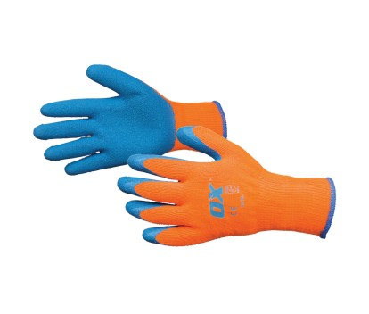 OX THERMAL GRIP GLOVES SIZE  9 (L)