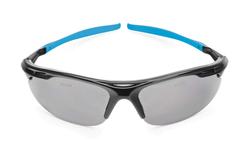 OX PRO WRAP AROUND SAFETY GLASSES SMOKED